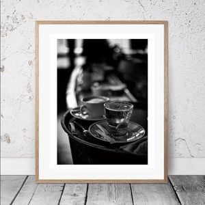 Other - Paris Café HQ B&W Print 16x20IN Matt finish